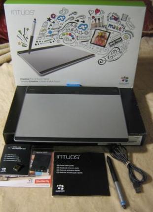 Графический планшет Wacom Intuos Pen & Touch M CTH-680S Wirele...