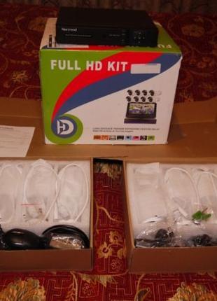 Система видеонаблюдения Nextrend 8 камер 1080P wi-fi FullHD 2 Tb