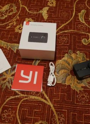 Экшн-камера Xiaomi Yi Lite wi-fi 4k полный комплект
