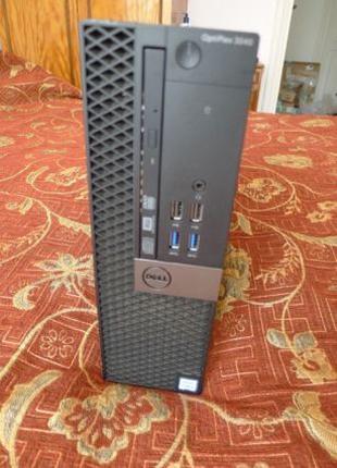 Производительный компактный компьютер Dell Optiplex 3040 Core ...