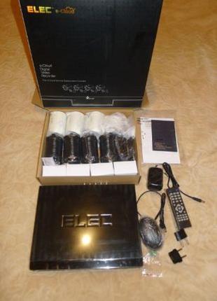 8-канальный комплект видеонаблюдения Elec Sirius-8 AHD 4 камер...