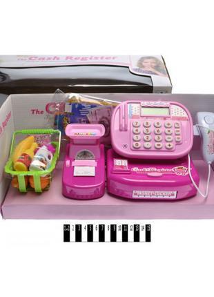 Кассовый аппарат LS820A58 розовый, калькулятор, сканер, весы, ...