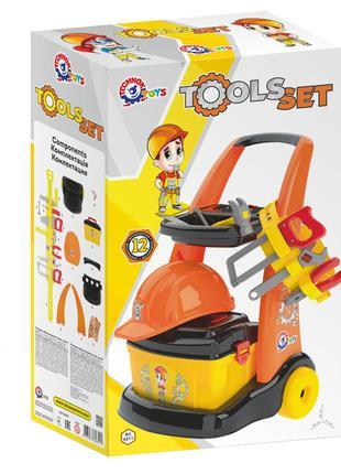 Детский набор инструментов ТехноК 6511