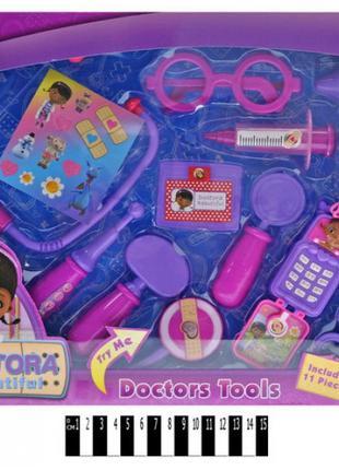 """Детский набор доктора звук, Лікарський набір """"Доктор Плюшева"""" ..."""