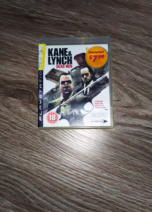 Kane and Lynch for PlayStation 3 Slim