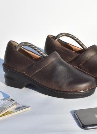 Женские кожаные кроссовки на осень коричневые размер 36