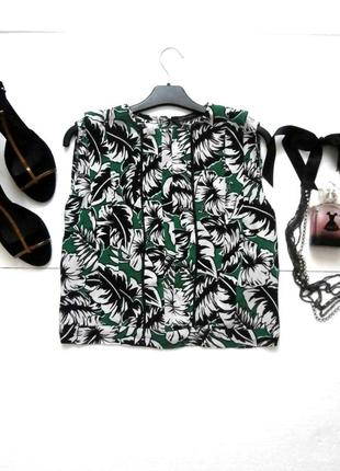 Стильная укороченная блуза блузка zara
