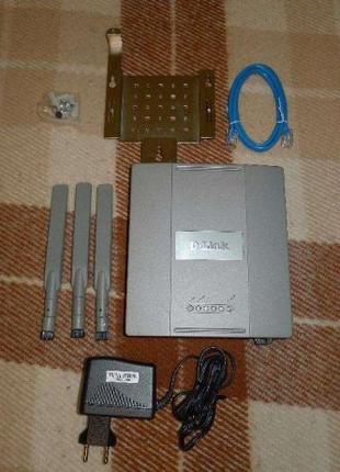 Беспроводная точка доступа D-Link DAP-2590 2.4/5GHz Dual-Band PoE