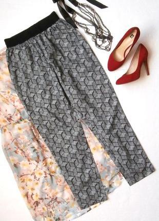 Легкие летние брюки, укороченные брюки
