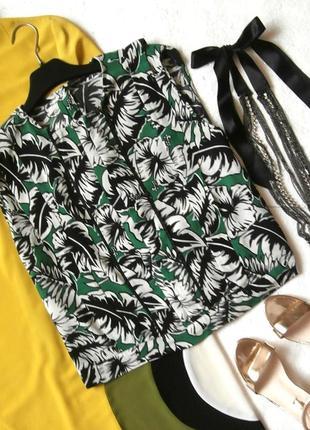 Красивая укороченная блуза блузка zara