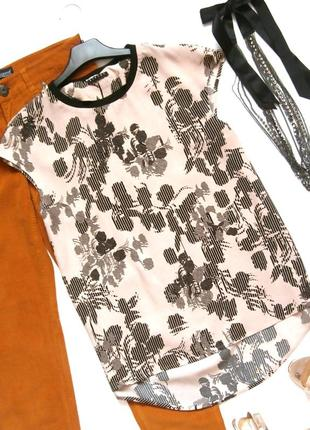 Стильная вискозная блуза блузка sisley