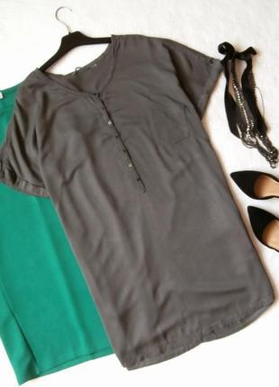 Удобное платье-рубашка из натуральной ткани