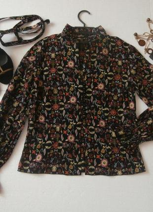 Интересная блуза с поясом