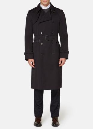 Melka эксклюзивное мужское двубортное пальто тренч на пояс