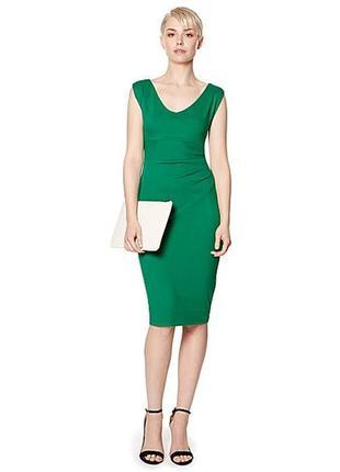Новое дизайнерское платье с оборкой
