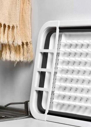 Чудо-сушилка трансформер (складная) для сушки посуды и кухонны...