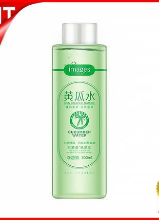 Лосьон тонер для лица IMAGES Skin Balance Nature 500 мл Cucumb...