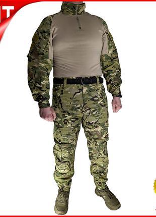 Костюм тактический Lesko A751 Camouflage XL (36 р.) камуфляжны...