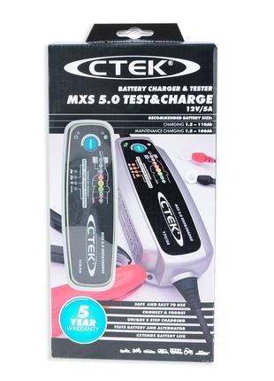 Зарядний пристрій CTEK MXS 5.0 Test & Charge