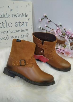 Супер стильные осенние ботинки для девочки
