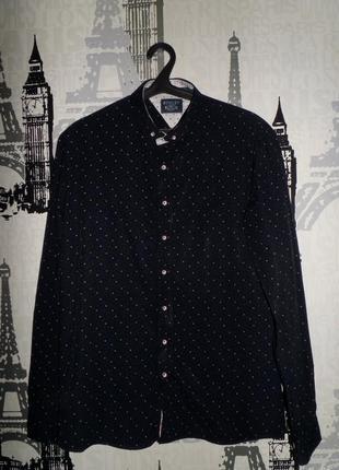 Красивая рубашка bewley & ritch разм.l-xl