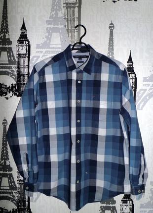Рубашка tommy hilfiger разм.m