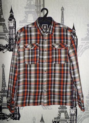 Рубашка g-star разм.l-xl