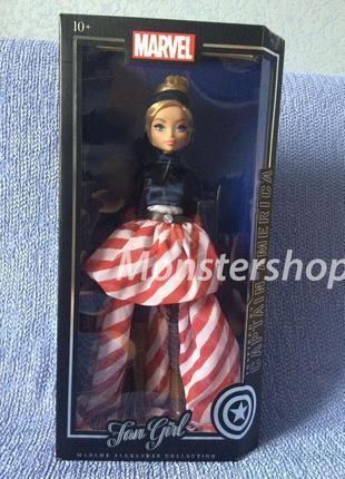 Кукла Madame Alexander Marvel Fan Girl Captain America Марвел