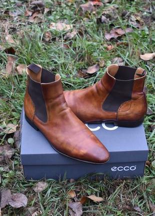 Magnanni испания мужские коричневые челси туфли полуботинки ра...