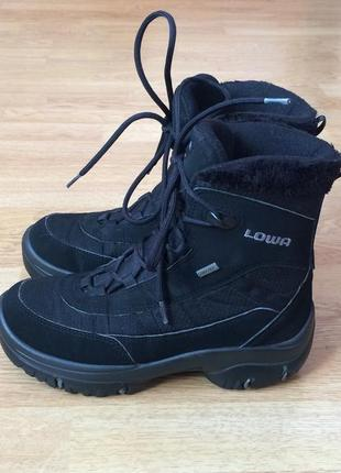 Зимние термо ботинки lowa с мембраной gore-tex 36 размера