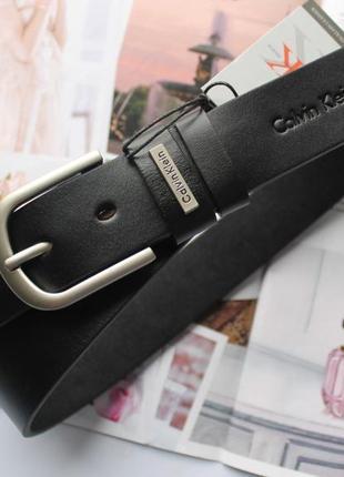 Женский ремень calvin klein черный
