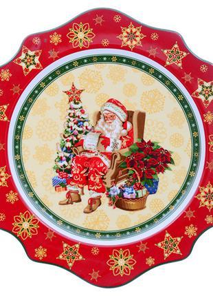 """Тарелка """"christmas collection"""" 26 см"""