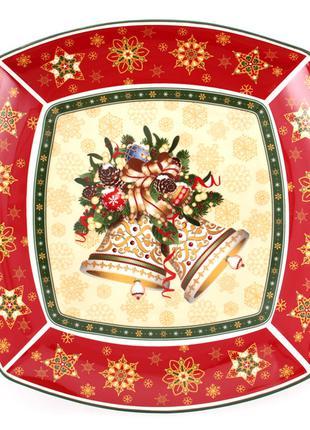 "Салатник ""christmas collection"" 33х5см коробка 12шт"
