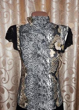 🌺🎀🌺красивая женская кофта с коротким рукавом, футболка, блузка...
