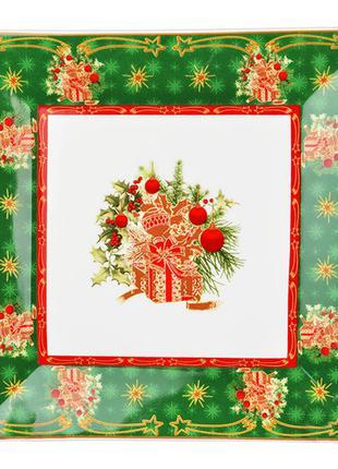 "Блюдо ""christmas collection"" 22*22 см"