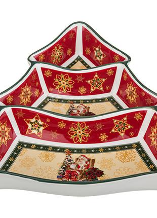 "Менажница ""christmas collection"" 24*24*5 см"