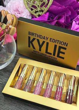 Матовые Помады Kylie Jenner GOLD! Помады Кайли Золотые Дженнер...
