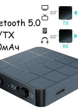 Bluetooth 5.0 мини аудио приемник передатчик звука 200мАч VIKE...