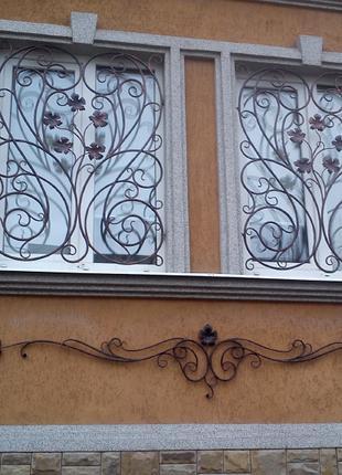 Решетки на окна в Полтаве (металлоизделия, металлоконструкции)
