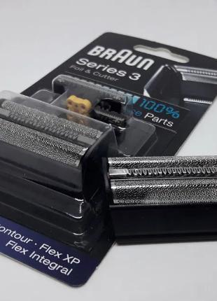 Оригинал блистер ножевой блок сетка BRAUN 31B,31S для бритвы б...