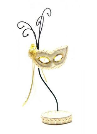 """Подставка под бижутерию """"Венецианская маска"""""""