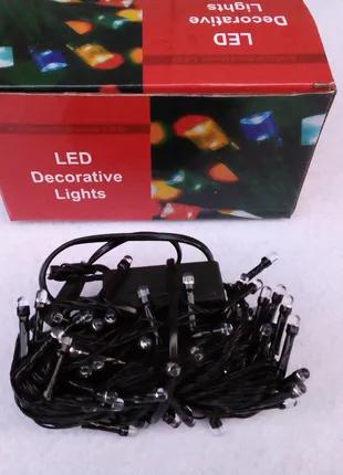 Гирлянда светодиодная LED на елку гірлянда світлодіодна водопад