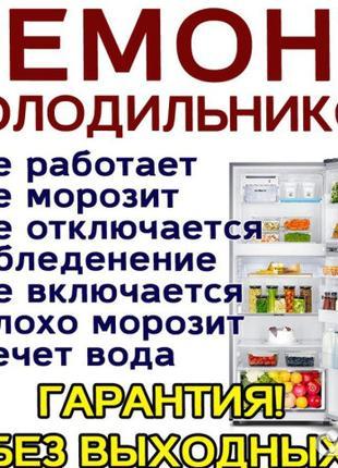 Ремонт Холодильника. Витрин. Морозильной камеры