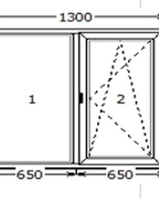 Вікно WDS розміром 1300*1400