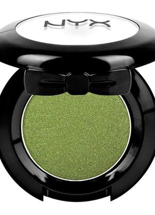 Nyx professional makeup hot single eyeshadows одинарные тени д...