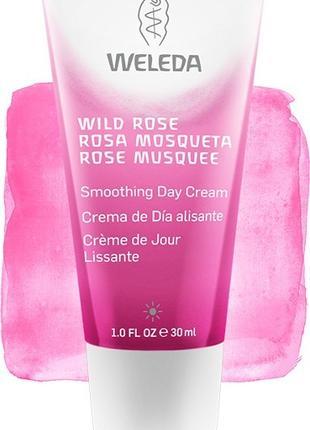 Разглаживающий дневной крем для лица Wild Rose.