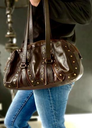 Hidesign. сумка из натуральной кожи.