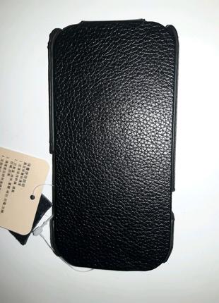Кожаный чехол для HTC One S (ICareR withe
