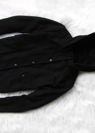 Стильная теплая куртка пальто с капюшоном new look
