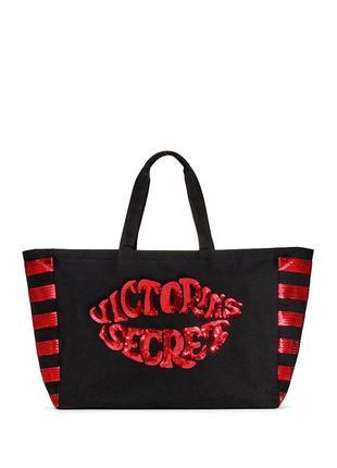 Оригинал шоппер пляжная сумка большая victorias secret сумки в...